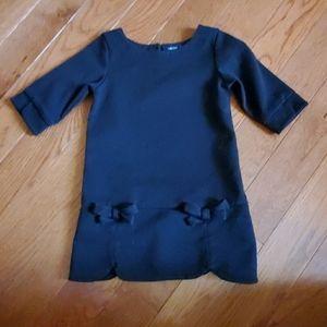 Little black dress.  Baby gap. 2t